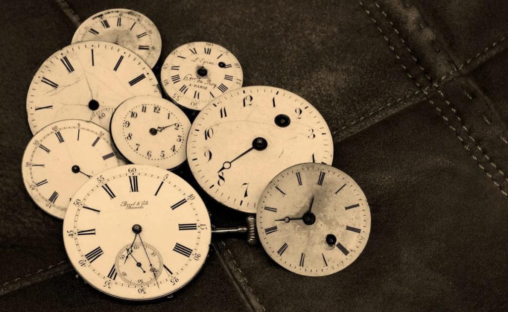 時計たくさん