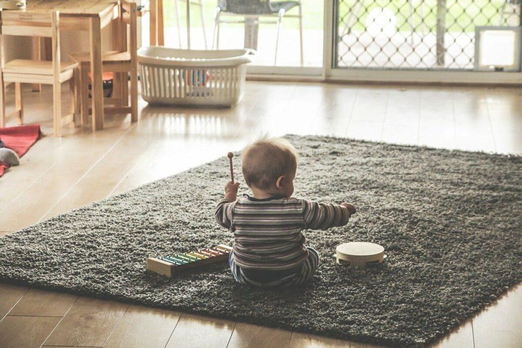 赤ちゃん演奏